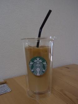 スターバックスコーヒーの2重タンブラー